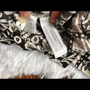 LOFT Tops - Loft floral boho button up tunic top